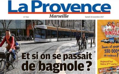 «La Provence» du 18 novembre 2017