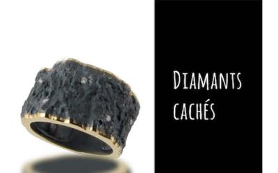 «Le diamant joue à cache-cache», Galerie Elsa Vannier, «Créations Joailleries» 2015