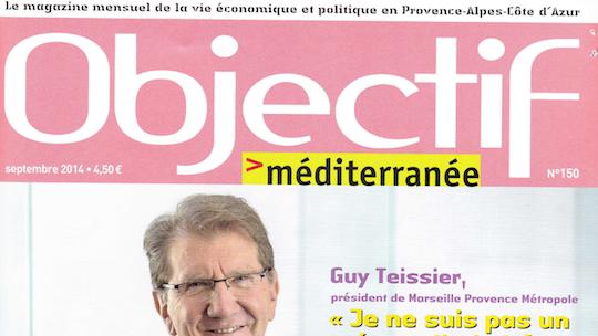 cover objectif mediterrannée septembre 2014