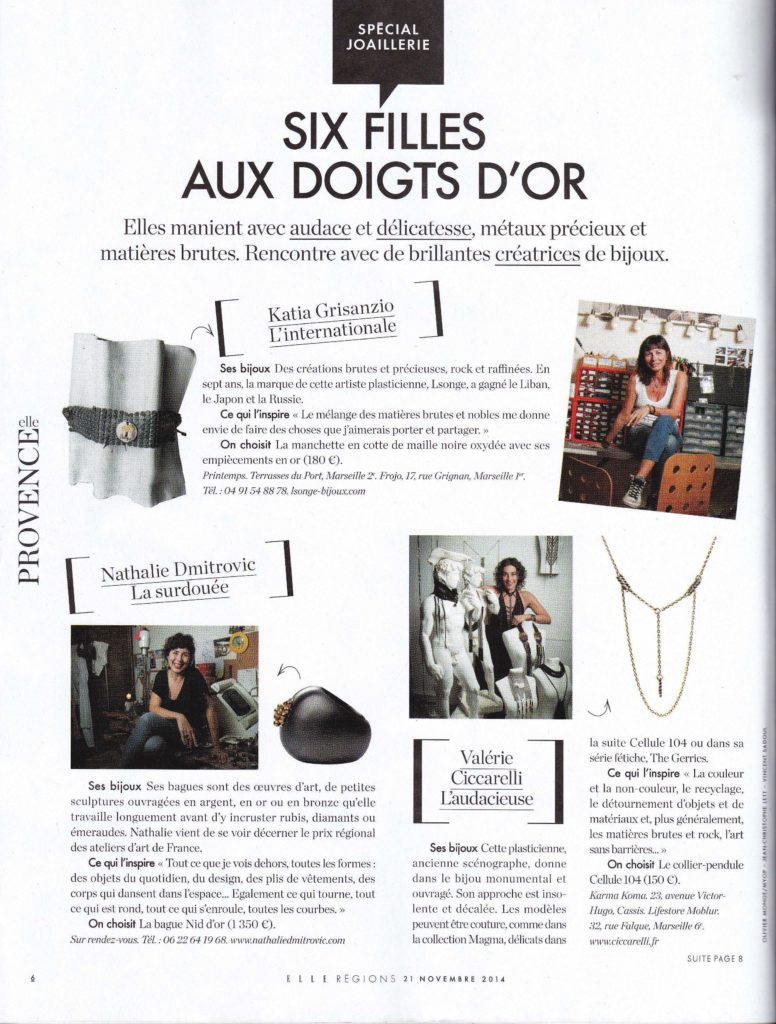 article Elle du 21_11_2014