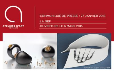 Exposition des Ateliers d'Art à la Nef – Montpellier – mars 2015