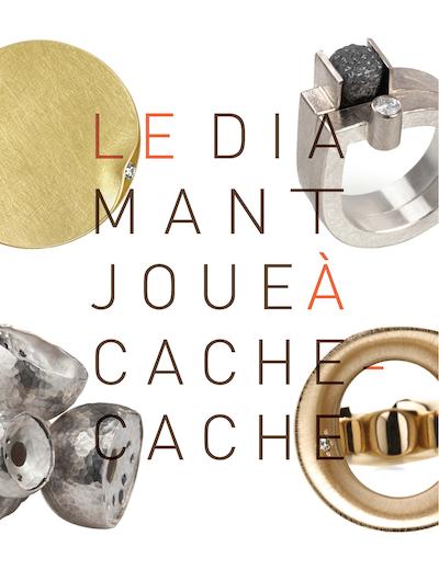 Exposition «Le Diamant joue à cache-cache» à la galerie Elsa Vannier du 5 décembre 2014 au 28 février 2015